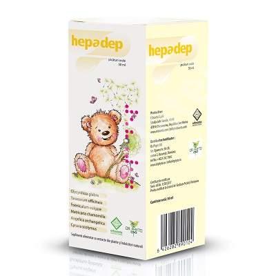 Picaturi orale Hepadep, 50 ml, Dr. Phyto
