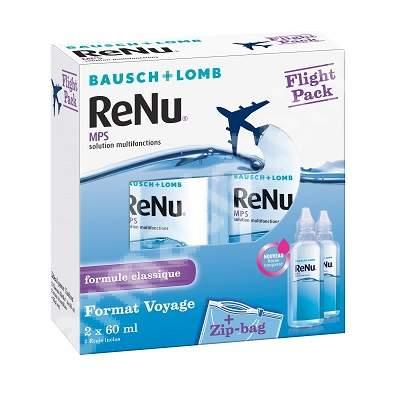 Picaturi pentru dezinfectarea lentilelor de contact Renu MultiPlus, 2x60 ml, Bausch Lomb