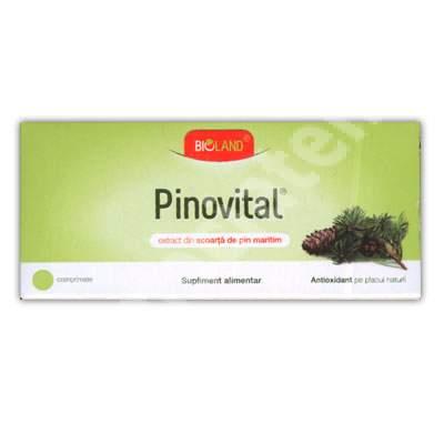 Pinovital, 30 comprimate, Biofarm