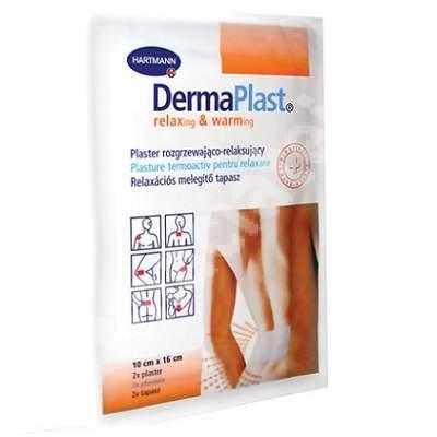 Plasture termoactiv DermaPlast, 2 bucăți, Hartmann