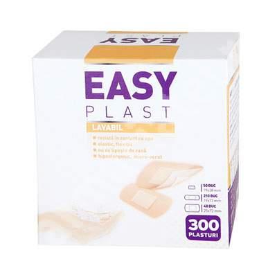 Plasturi lavabili, 300 bucati, Easy Plast