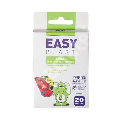 Plasturi pentru copii Buba, 20 bucati, Easy Plast