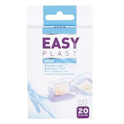 Plasturi rezistenti la apa, 20 bucati, Easy Plast