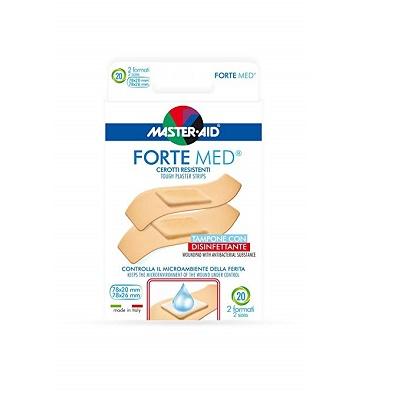 Plasturi ultra rezistenți Forte Med Master-Aid, 2 mărimi, 20 bucăți , Pietrasanta Pharma