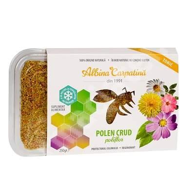 Polen crud poliflor, 250 g, Albina Carpatina