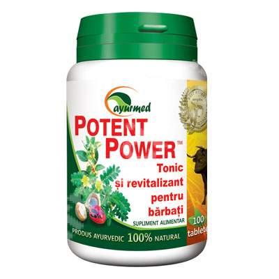 Potent Power, 100 tablete, Ayurmed