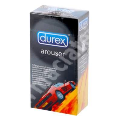 Prezervative Arouser, 12 bucati, Durex