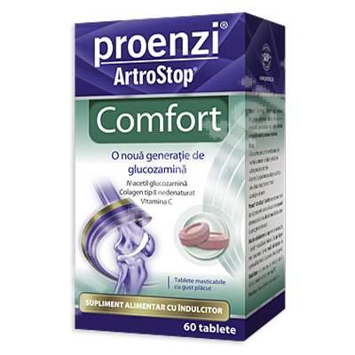 Proenzi ArtroStop Comfort, 60 tablete, Walmark( PACHETUL INCLUDE ȘI 1 CREMĂ PROENZI )