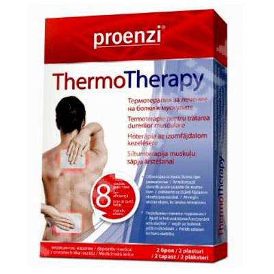 Proenzi Thermo Therapy, 2 plasturi, Walmark