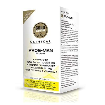 Pros-Man, 60 capsule, Gold Nutrition