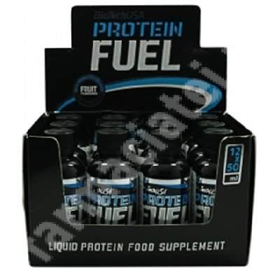 Protein Fuel Cherry, 12 x 50 ml, BioTechUSA