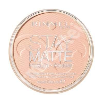 Pudra compacta Stay Matte 002, 14 g, Rimmel London