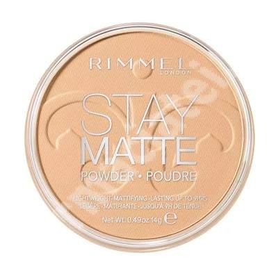 Pudra compacta Stay Matte 006, 14 g, Rimmel London
