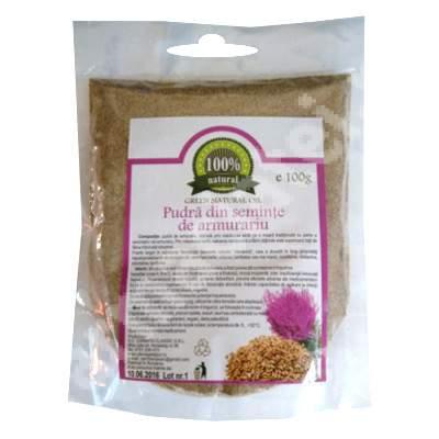 Pudra din seminte de armurariu, 100 g, Carmita Classic