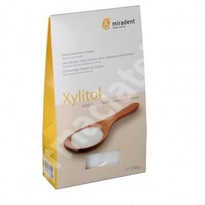 Pudra indulcitor natural Xylitol Miradent, 350 g, Hager & Werken