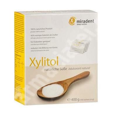 Pudra indulcitor natural Xylitol Miradent, 400 g, Hager & Werken