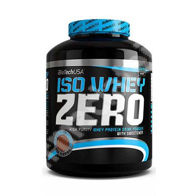 Pudra proteica Iso Whey Zero cu aroma de tiramisu, 2270 g, BiotechUsa