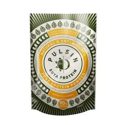 Pudra proteica izolata din soia, 250 g, Pulsin
