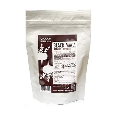 Pulbere de maca neagra eco, 100 g, Dragon Superfoods
