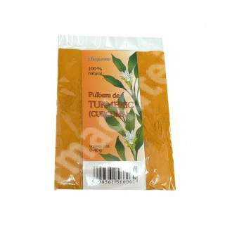 Pulbere de Turmeric, 40 g, Herbavit