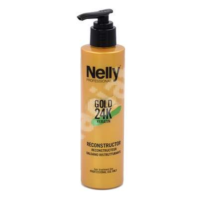 Reconstructor Gold 24K Keratin, 200 ml, Nelly Professional