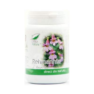 Rehmannia, 60 capsule, Pro Natura
