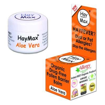 Remediu pentru alergie cu Aloe Vera, 5 ml, HayMax