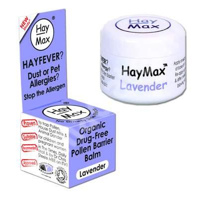 Remediu pentru alergie cu Lavandă, 5 ml, HayMax