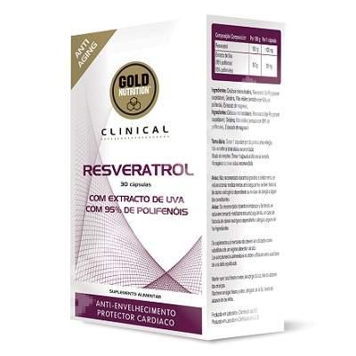 Resveratrol, 30 capsule, Gold Nutrition