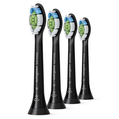 Rezerve pentru periuța de dinți electrică Sonicare W Optimal Black, 4 bucăți, HX6064/11, Philips Sonicare