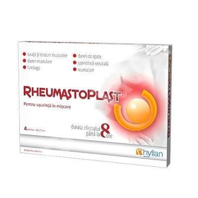 RheumastoPlast, 4 plasturi, Hyllan