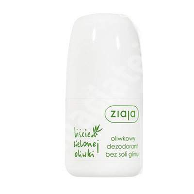 Roll-on antiperspirant fresh fara saruri de aluminiu, 50 ml, Ziaja