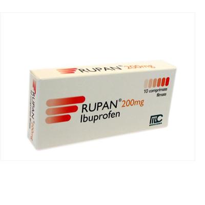 Rupan 200 mg, 10 comprimate, Medochemie Ltd
