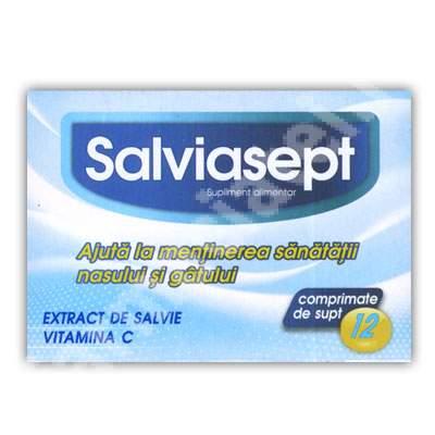 Salviasept, 12 comprimate, Zdrovit