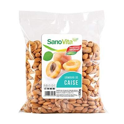 Samburi de caise miez amar, 500 g, Sanovita