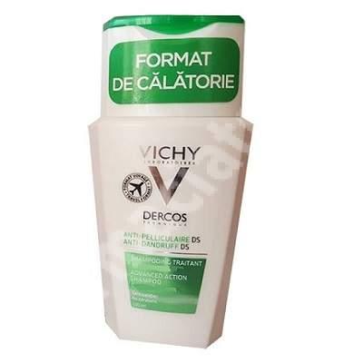 Șampon anti-matreață pentru păr uscat Dercos, 100 ml, Vichy