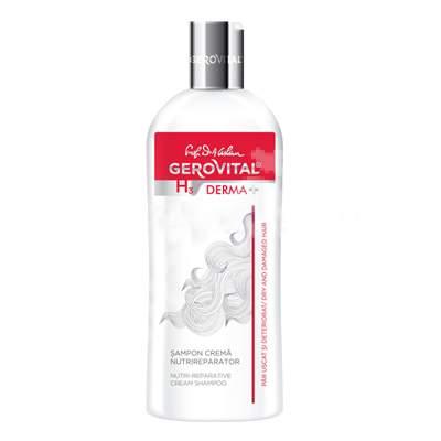 Șampon cremă nutrireparator Gerovital H3 Derma+, 200 ml, Farmec