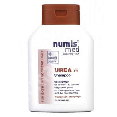 Sampon dermatocosmetic cu Uree 5% pentru par uscat si foarte uscat, 200 ml, Numismed
