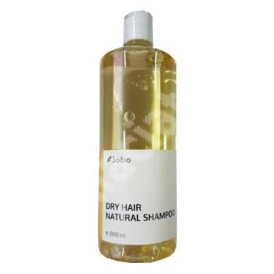 Sampon natural pentru scalp uscat