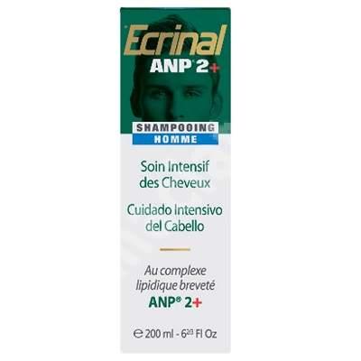 Sampon pentru barbati Ecrinal ANP 2+, 200 ml, Asepta