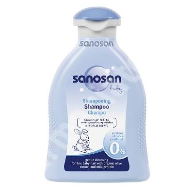 Sampon pentru copii, 200 ml, Sanosan