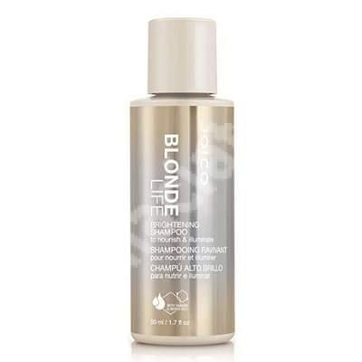 Șampon pentru păr blond Blonde Life Brightening, 50 ml, Joico