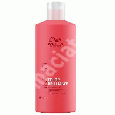Sampon pentru par vopsit Invigo Color Brilliance Fine-Normal, 500 ml, Wella Professionals