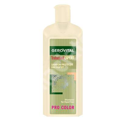 Sampon protectie par vopsit Gerovital TratamentExpert, 250 ml, Farmec