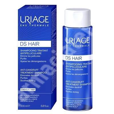 Șampon tratament antimatreată D.S., 200 ml, Uriage