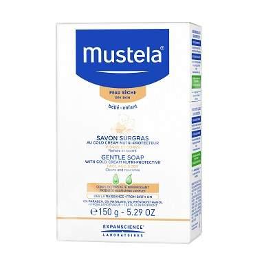 Săpun bebe cu cold cream, 150 g, Mustela