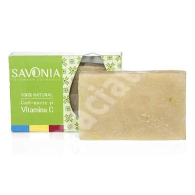 Sapun cu castravete si vitamina C, 90 g, Savonia