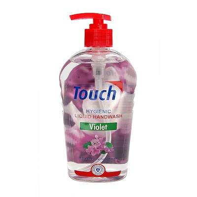 Sapun lichid Violet, 500 ml, Touch