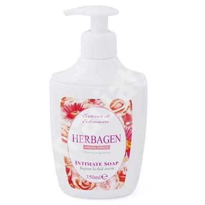 Săpun lichid intim cu Echinacea, 350 ml, Herbagen