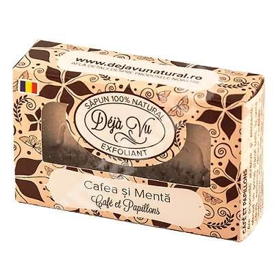 Sapun natural cu Cafea si Menta, 90 g, Deja Vu